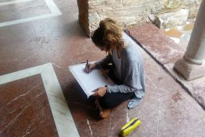 On site survey Osios Meletios Greece 2018